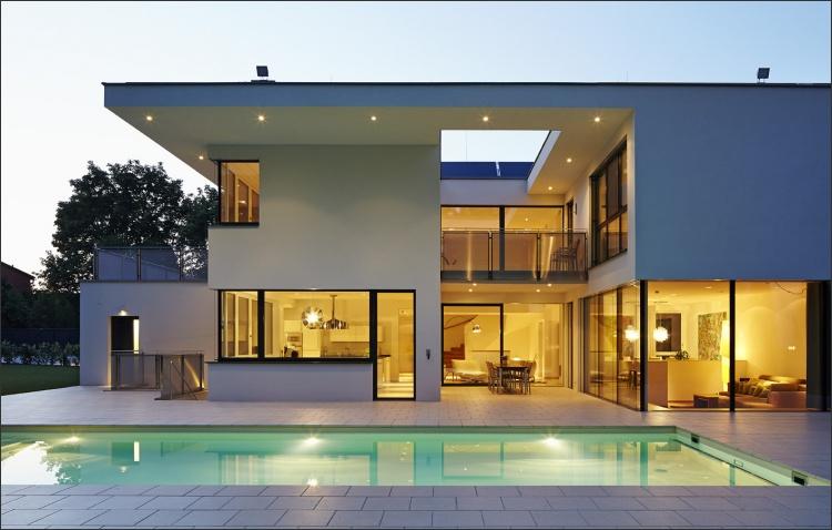 Neubau Einfamilienhaus samt Poolanlage