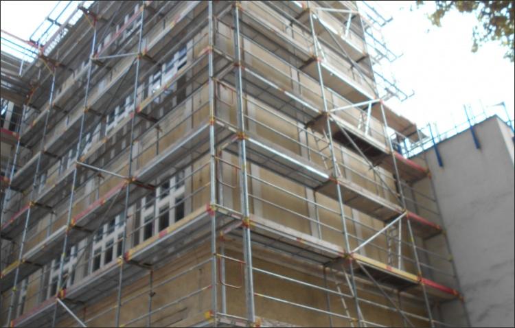 Fassade vor Sanierung