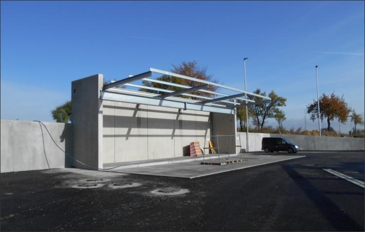 betriebseigene Tankstelle