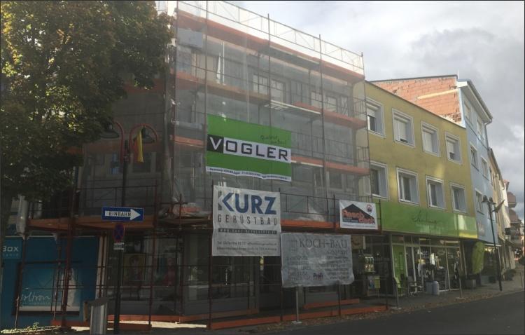 Fassadengestaltung Geschäftslokal
