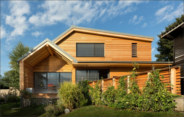 Neubau Einfamilienhaus Holzbau