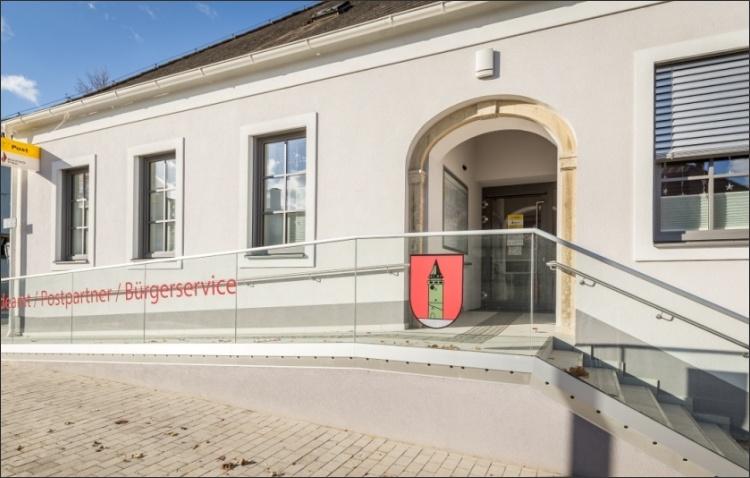 Zugangsrampe Gemeindeamt