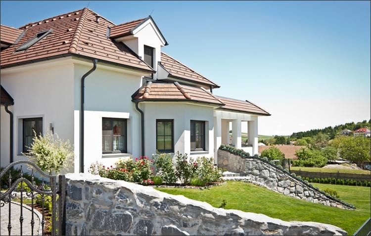 Ziegel-Massivhaus