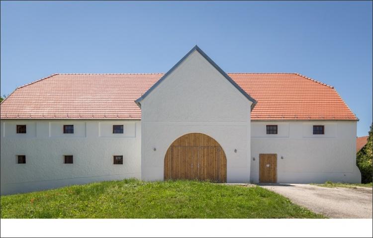 Revitalisierte Fassade