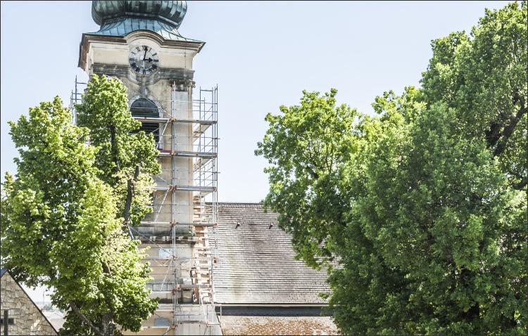 Sanierung des Kirchenturms