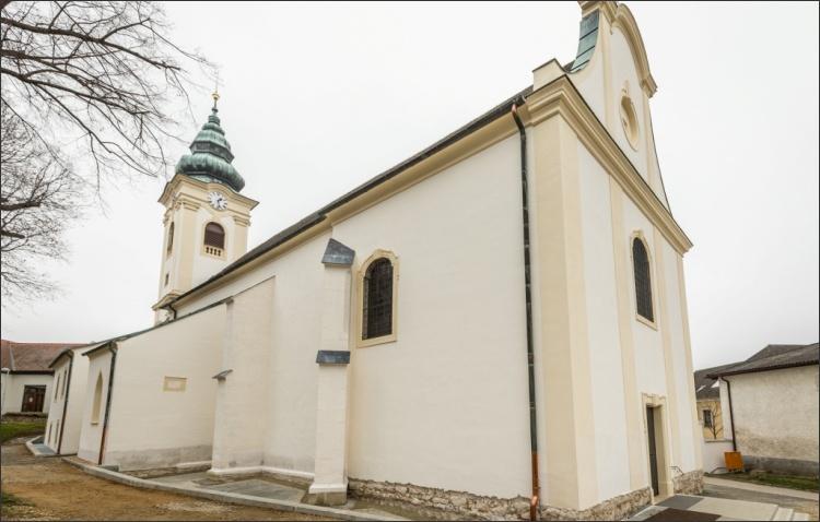 Renovierte Kirche