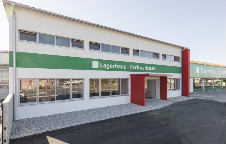 Neu- und Umbau Fachwerkstätte in Ziegel-Massivbauweise