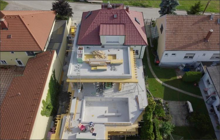 Zubau Einfamilienhaus