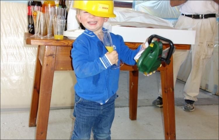 Der kleine Baumeister