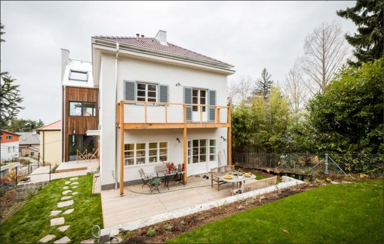 Um- und Zubau Einfamilienhaus