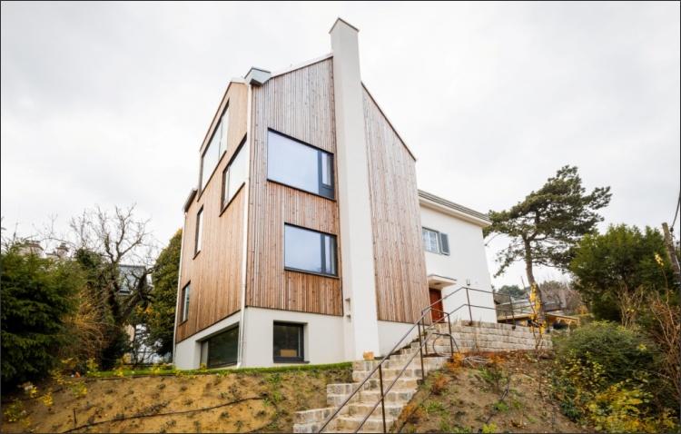 Zubau Holzhaus