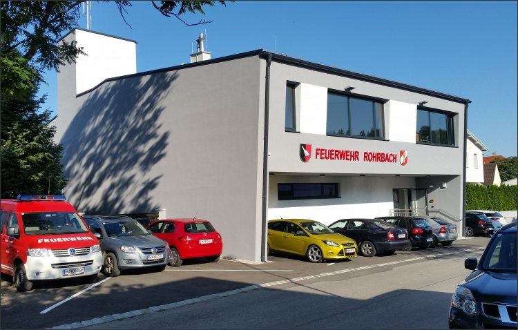 Neubau Feuerwehrhaus Rohrbach (Foto: Team Plankraft)