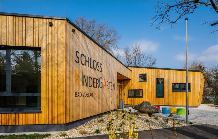 Umbau Schlosskindergarten Bad Vöslau (Copyright: Christian Husar/Kosaplaner)
